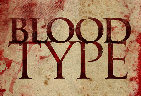 Blood Type Photoshop Tutorial Second Row