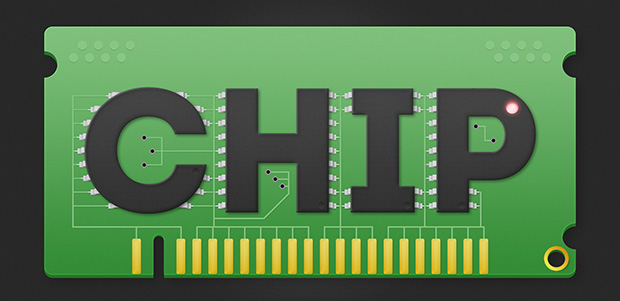 Create a Computer Chip Text Effect in Photoshop