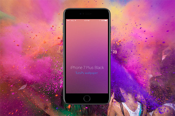 Create a Custom iOS 11 Style Blur Background in Photoshop