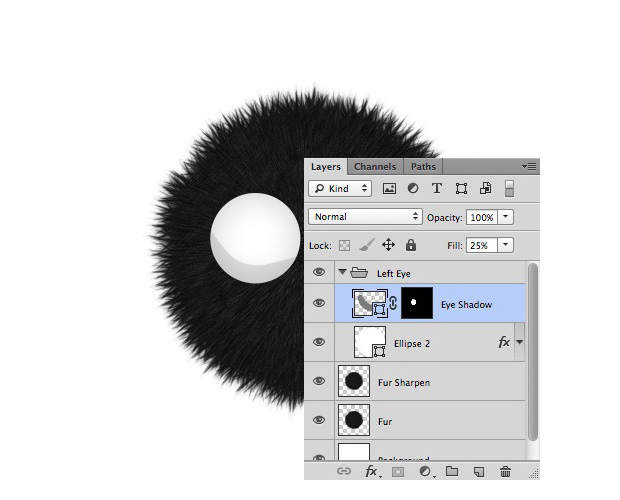 Create a Furry Little Monsters Wallpaper in Photoshop