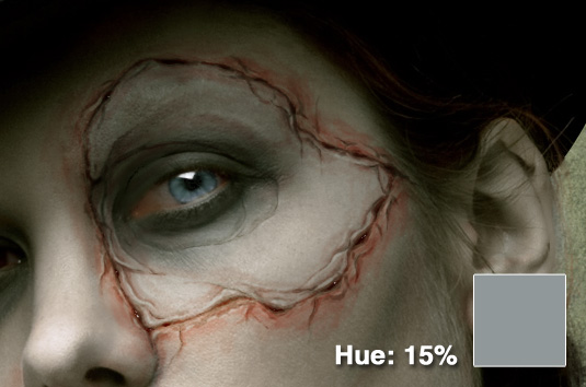 Create a realistic Stitches in photoshop - Photoshop Stitches Tutorial Dead Hue