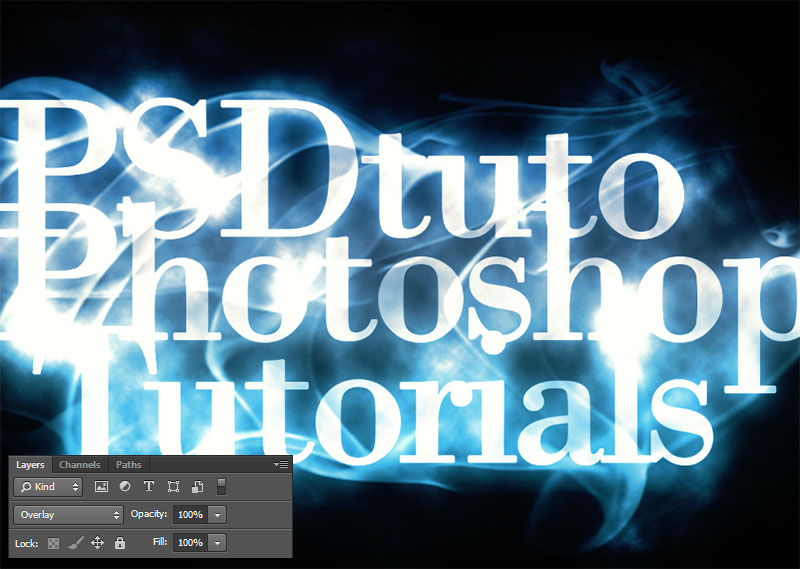 Create a Smoky Text Effect in Photoshop