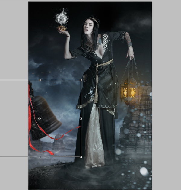 Fantasy Photo Manipulation Tutorial: Step 24.5.2