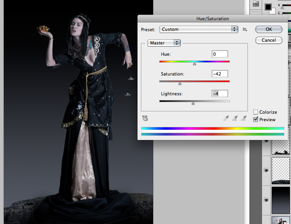 Fantasy Photo Manipulation Tutorial: Step 5.1.2