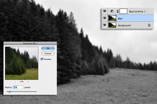 How to create a Realistic Mist Photoshop Tutorial
