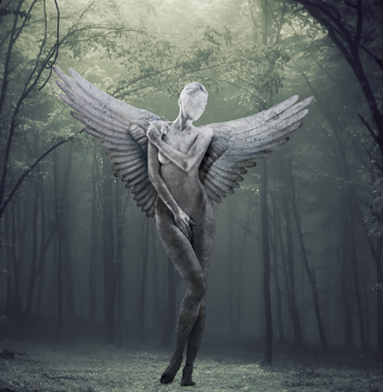 Mythological Statue Photomanipulation Photoshop Tutorial - mythology tutorial
