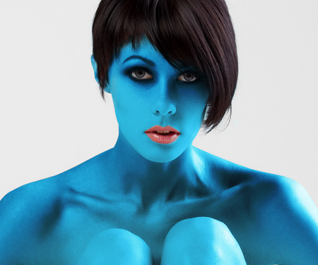 Photoshop Body Paint Tutorial Darker Tones