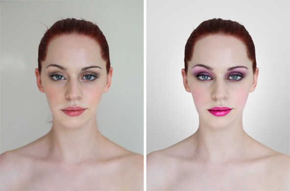Photoshop Makeup Tutorial Walkthrough