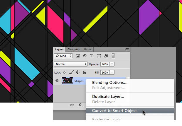 Use Smart Objects with Non Destructive Filters in Photoshop