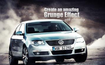 Photoshop tutorials Grunge effect with photoshop