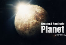 Photoshop tutorials how to make a planet with photoshop
