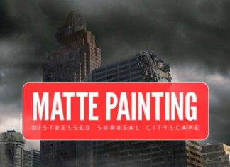 Matte Painting Photoshop tutorial : Create A Distressed Surreal Cityscape