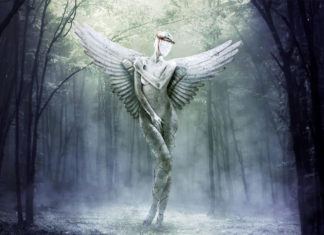 Mythological Statue Photomanipulation Photoshop Tutorial