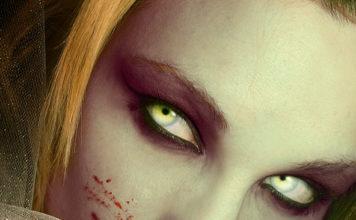 Halloween Photoshop Evil Eyes Tutorial